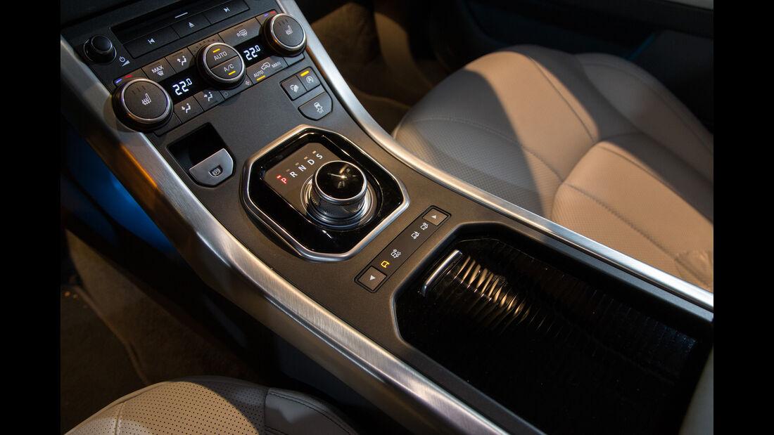 Range Rover Evoque TD4, Bedienelement