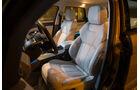 Range Rover Evoque TD4, Fahrersitz