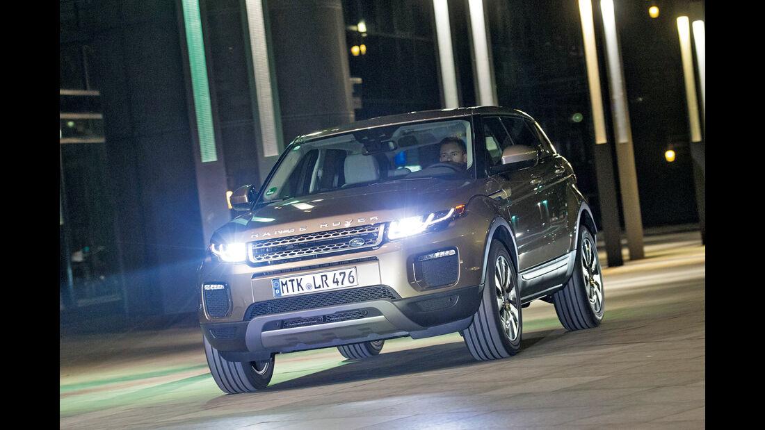 Range Rover Evoque TD4, Frontansicht