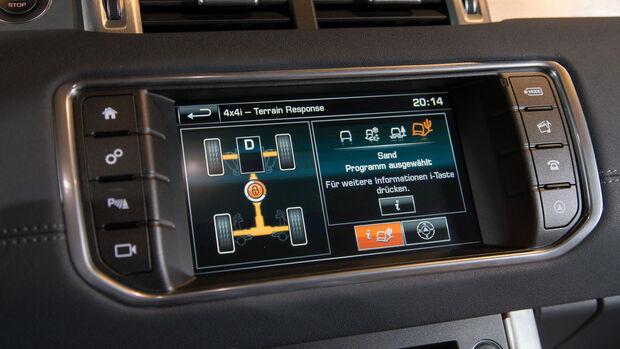 Range Rover Evoque TD4, Monitor, Infotainment