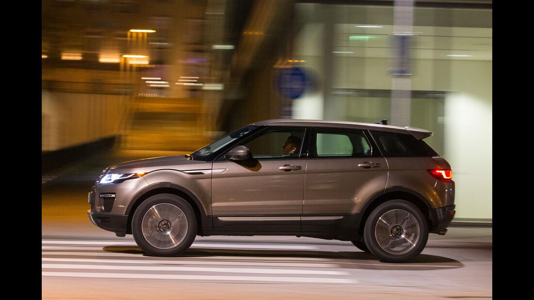 Range Rover Evoque TD4, Seitenansicht