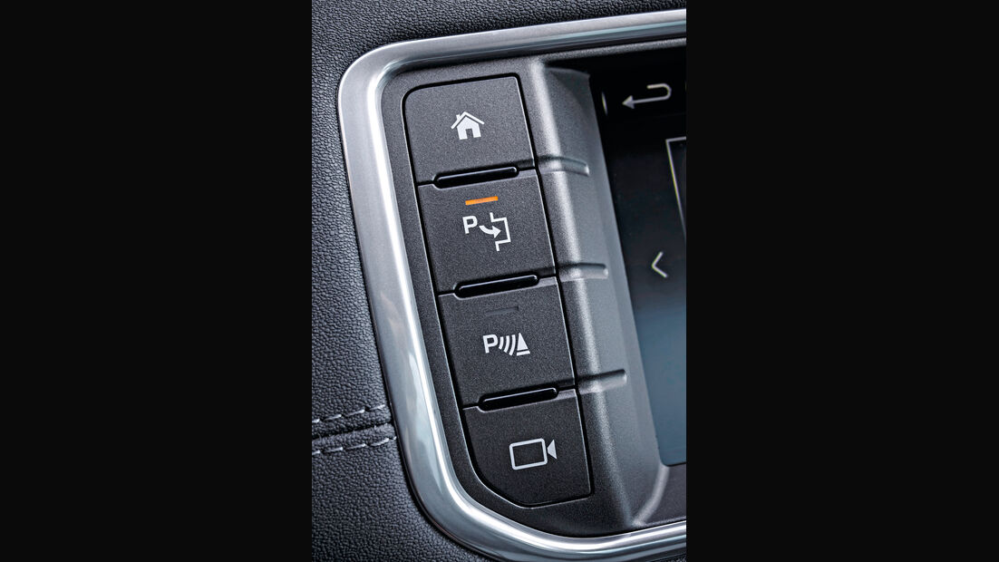 Range Rover Evoque eD4 2WD, Bedienelemente