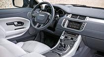 Range Rover Evoque eD4 2WD, Cockpit