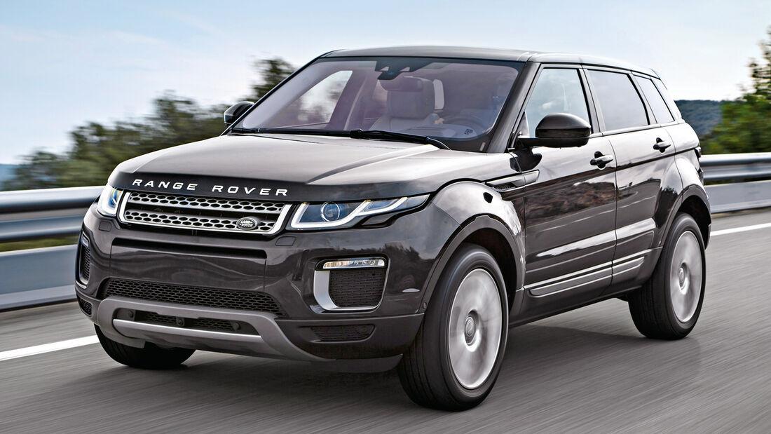 Range Rover Evoque eD4 2WD, Frontansicht
