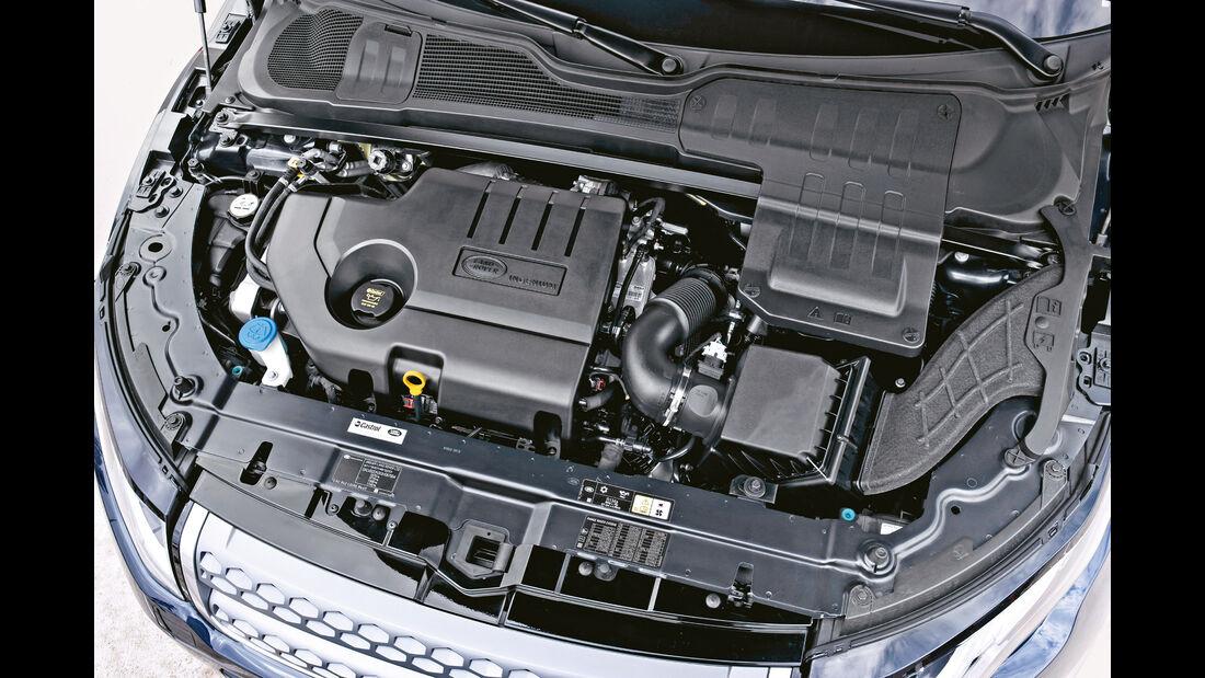 Range Rover Evoque eD4 2WD, Motor