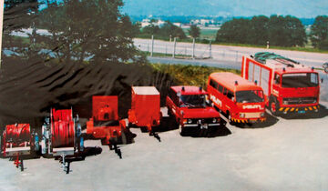 Range Rover, Feuerwehrfahrzeuge
