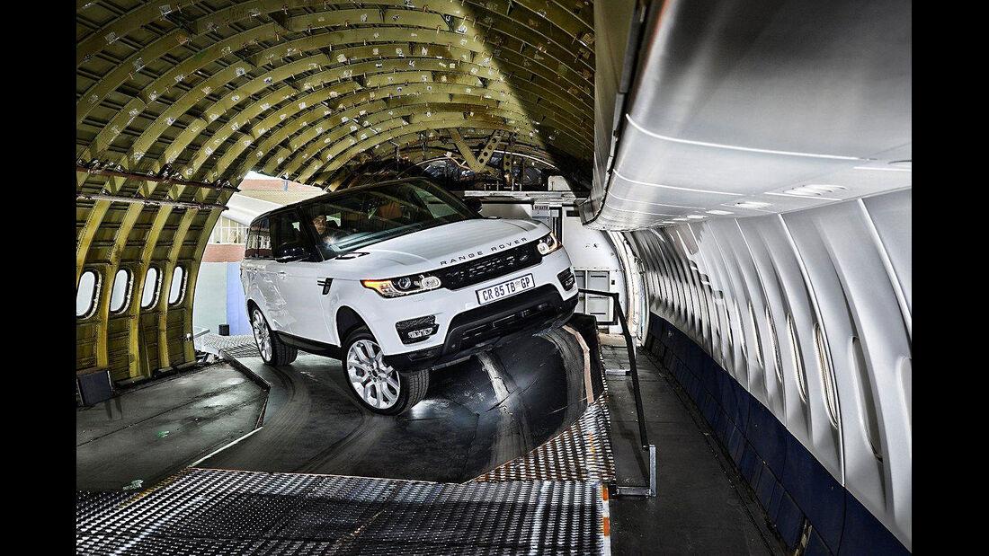 Range Rover Flugzeug
