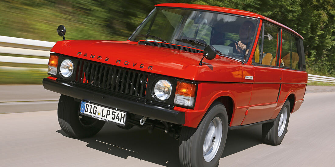 Range Rover Restaurierung Restaurierung Mit Blankoscheck Auto