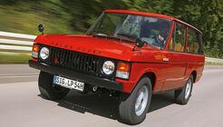 Range Rover, Frontansicht