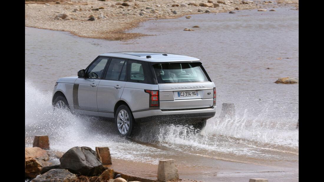 Range Rover, Heckansicht