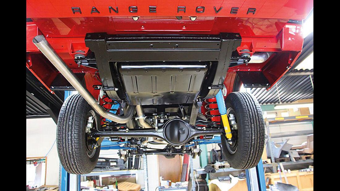 Range Rover, Hinterachse