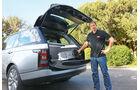 Range Rover, Kofferraum, Heckklappe