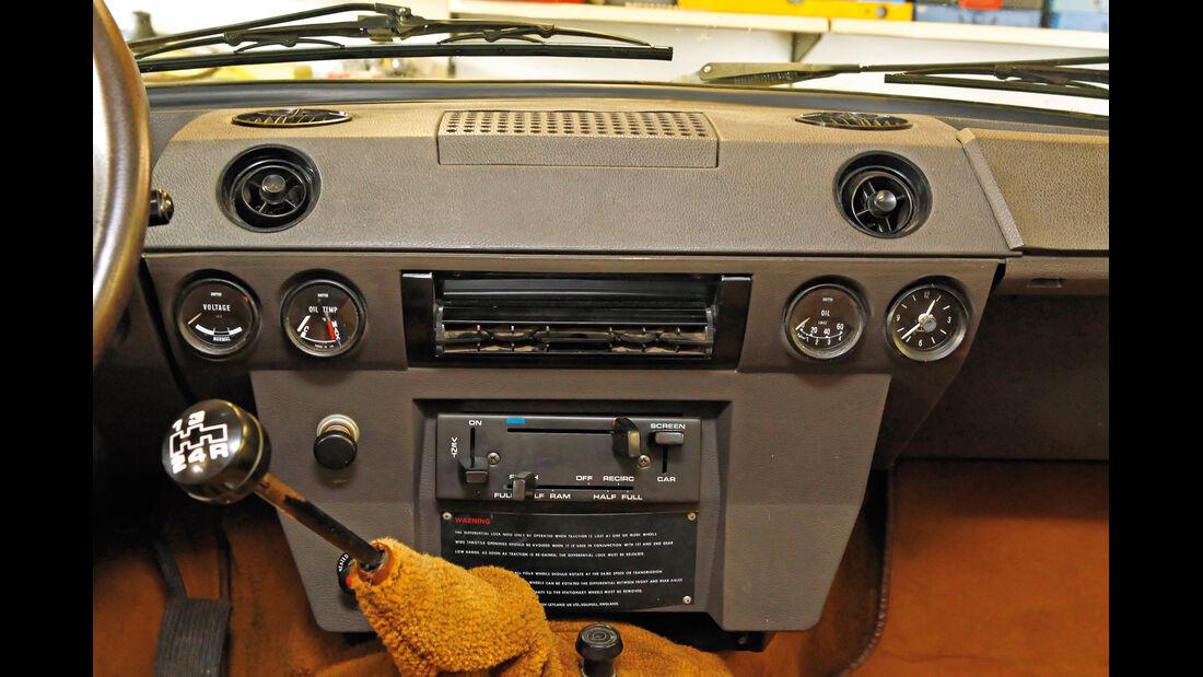 Range Rover, Mittelkonsole