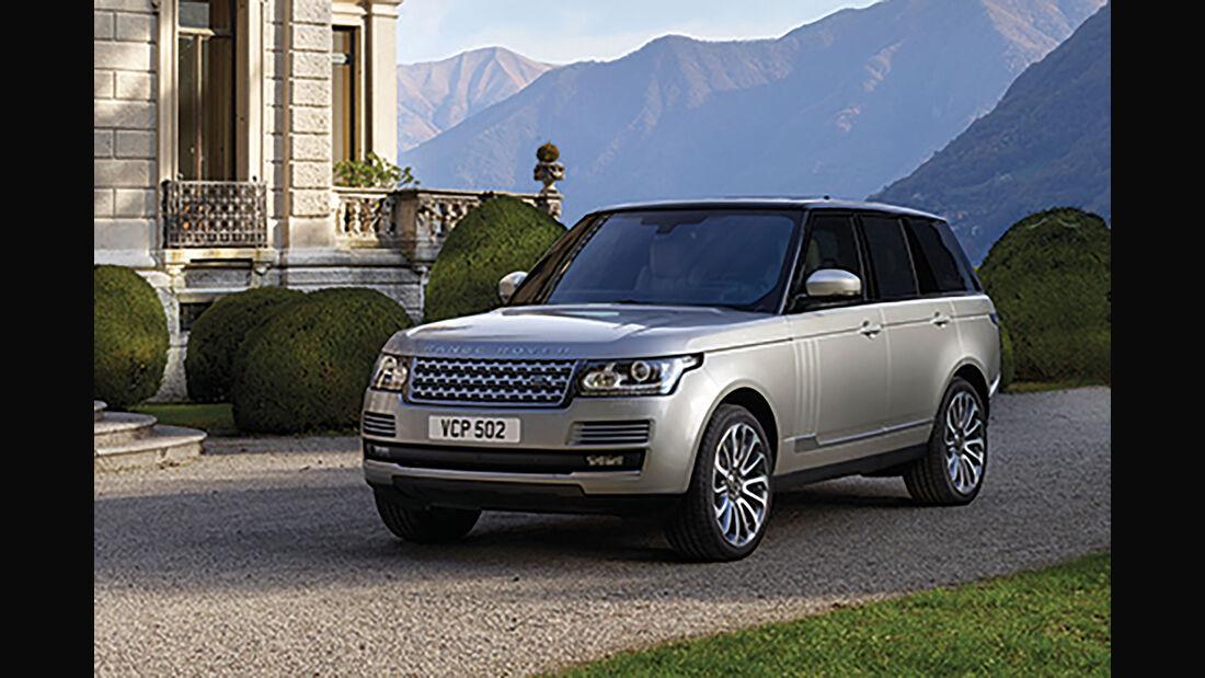 Range Rover Modelljahr 2017
