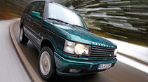 Range Rover P38A, Frontansicht