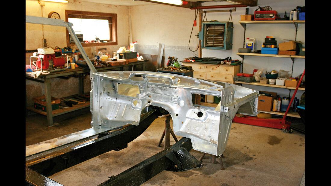 Range Rover, Rahmen