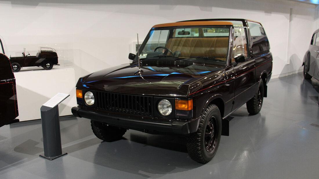 Range Rover Royal Ceremonial Vehicle im British Motor Museum