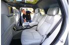 Range Rover, Rücksitz, Armlehne