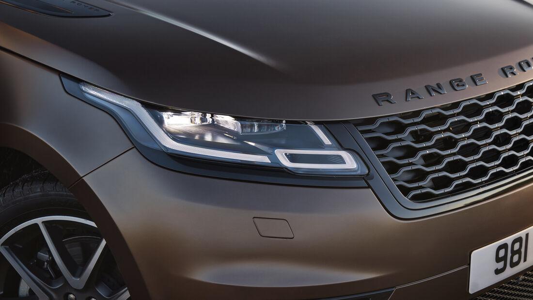 Range Rover SVO Bespoke Premium-Farbpalette 2022 Modellpfleg