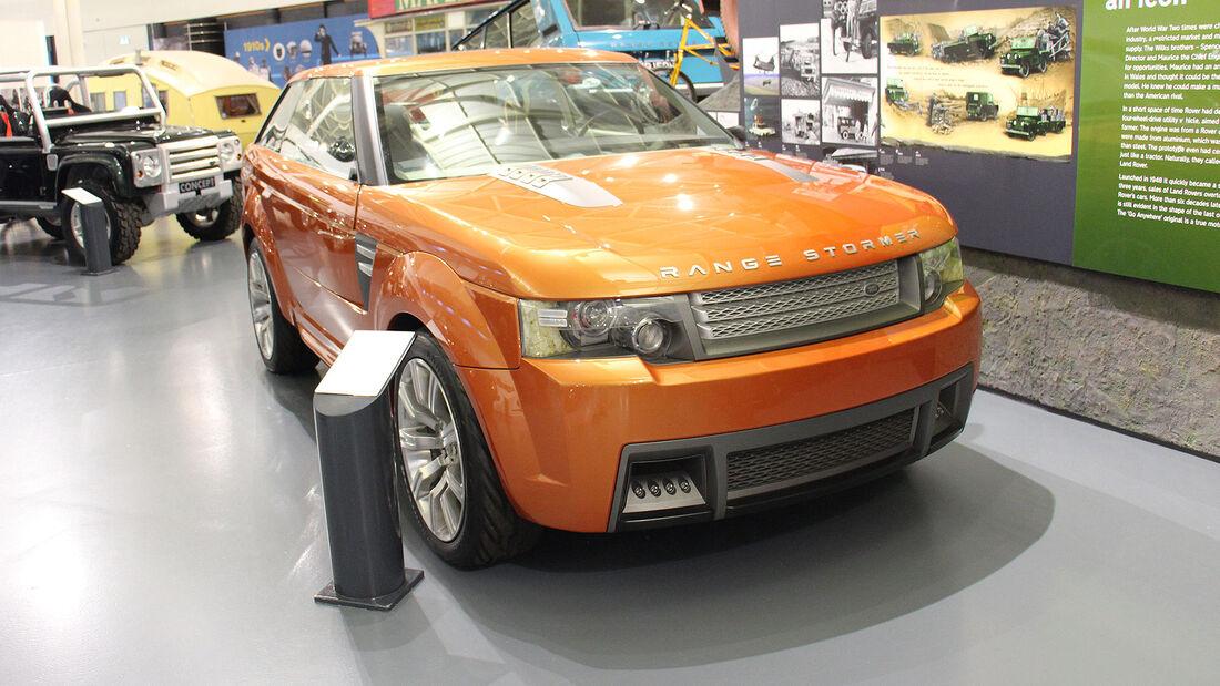 Range Rover Sand Stormer Concept im British Motor Museum