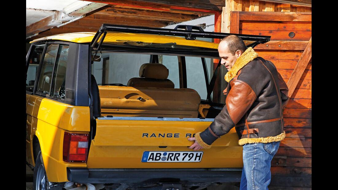 Range Rover, Sebastian Fasold, Heckklappe