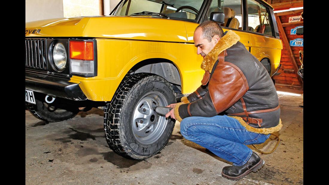 Range Rover, Sebastian Fasold, Rad, Felge