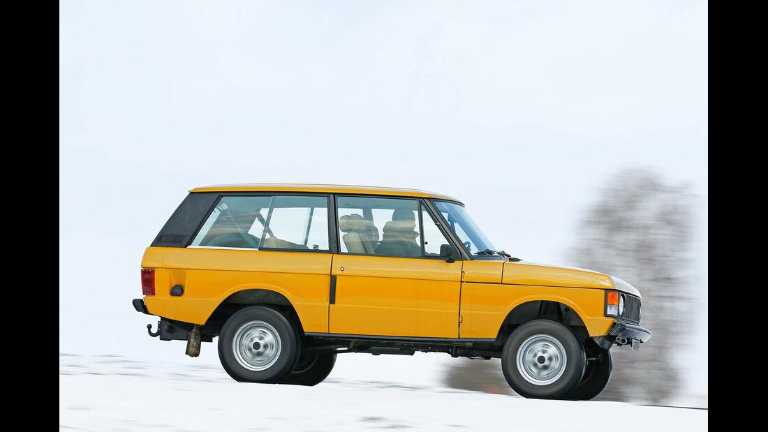 Range Rover, Seitenansicht