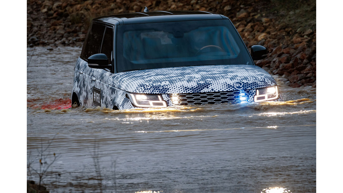 Range Rover Sentinel 5.0 V8 Supercharged (2019) Sonderschutz