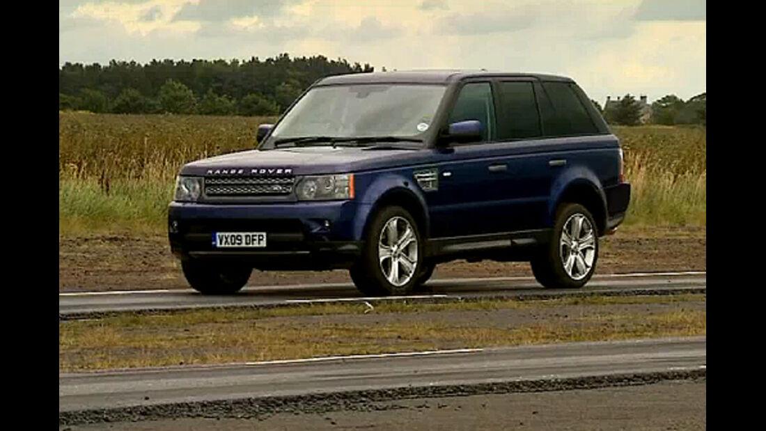 Range Rover Sport, 4wf, Video