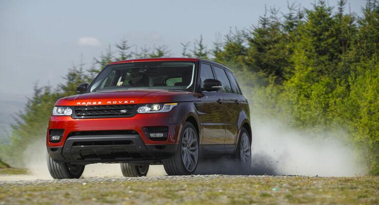 Range Rover Sport 5.0 Supercharged MY 2013 im ersten Test