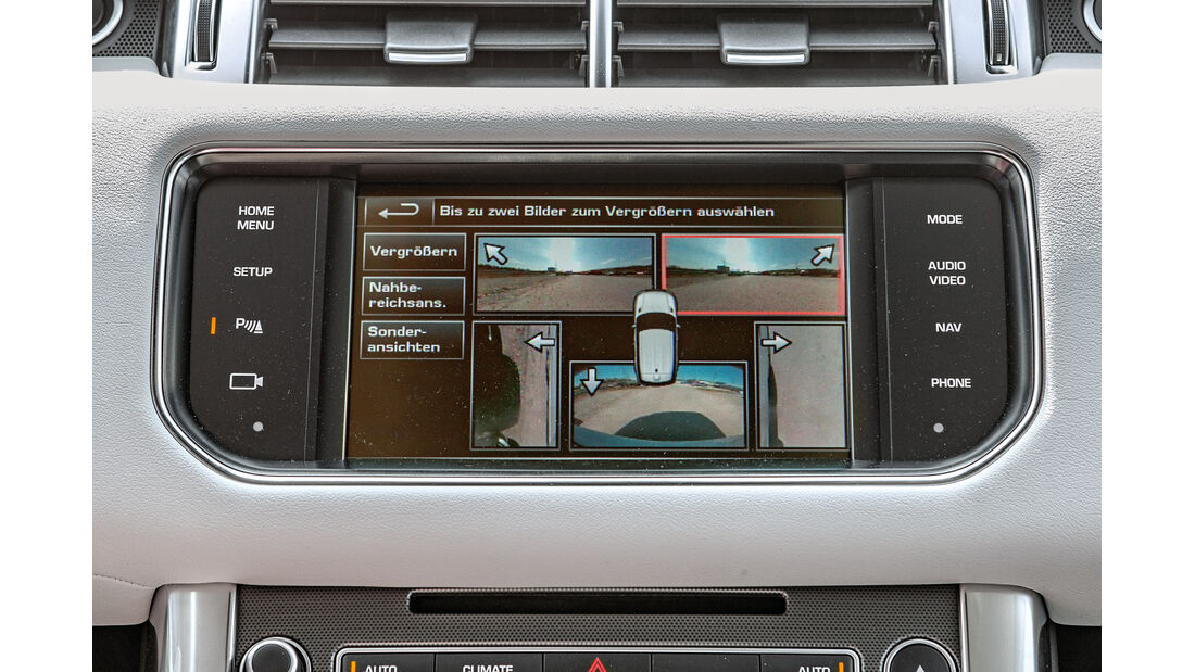Range Rover Sport, Bordcomputer