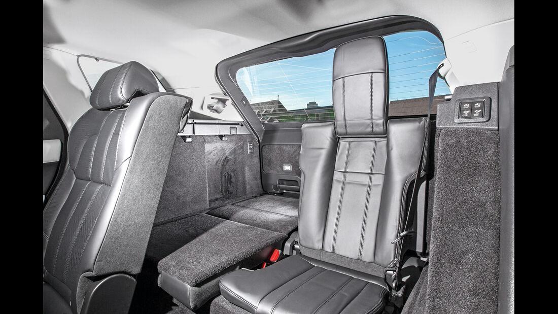 Range Rover Sport, Fondsitz