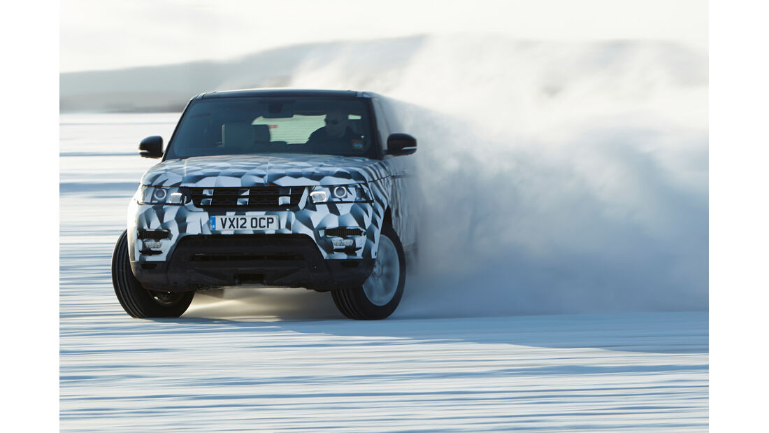 Range Rover Sport, Frontansicht, Driften
