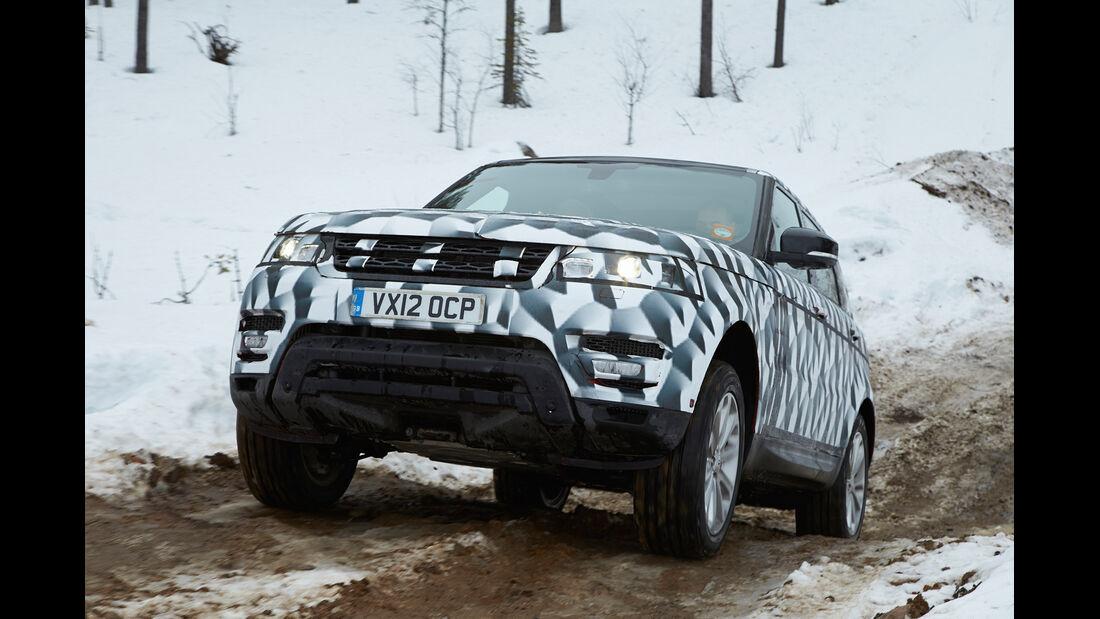 Range Rover Sport, Frontansicht, Gelände