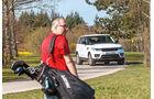 Range Rover Sport, Golfen