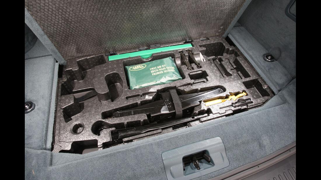 Range Rover Sport, Kofferraumboden