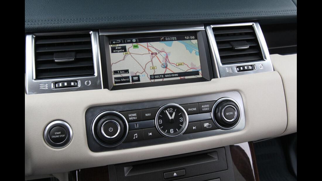 Range Rover Sport, Navi