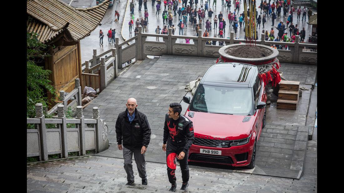 Range Rover Sport PHEV Hybrid Dragon Challenge 2018