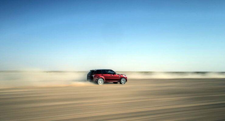 Range Rover Sport Rekord in der Rub al-Chali