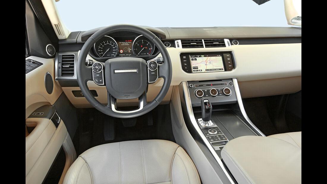 Range Rover Sport SD V6 SE, Cockpit