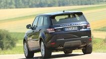 Range Rover Sport SD V6 SE, Heckansicht