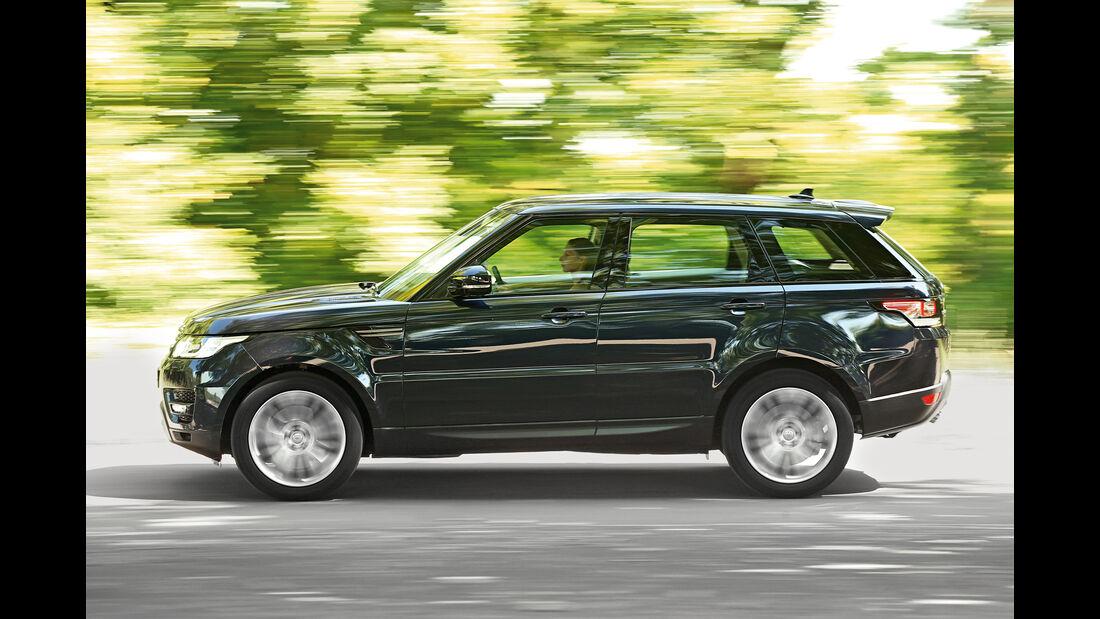 Range Rover Sport SD V6 SE, Seitenansicht