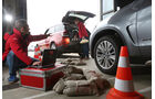 Range Rover Sport SDV6, BMW X5 xDrive 30d, Werstatt, Test