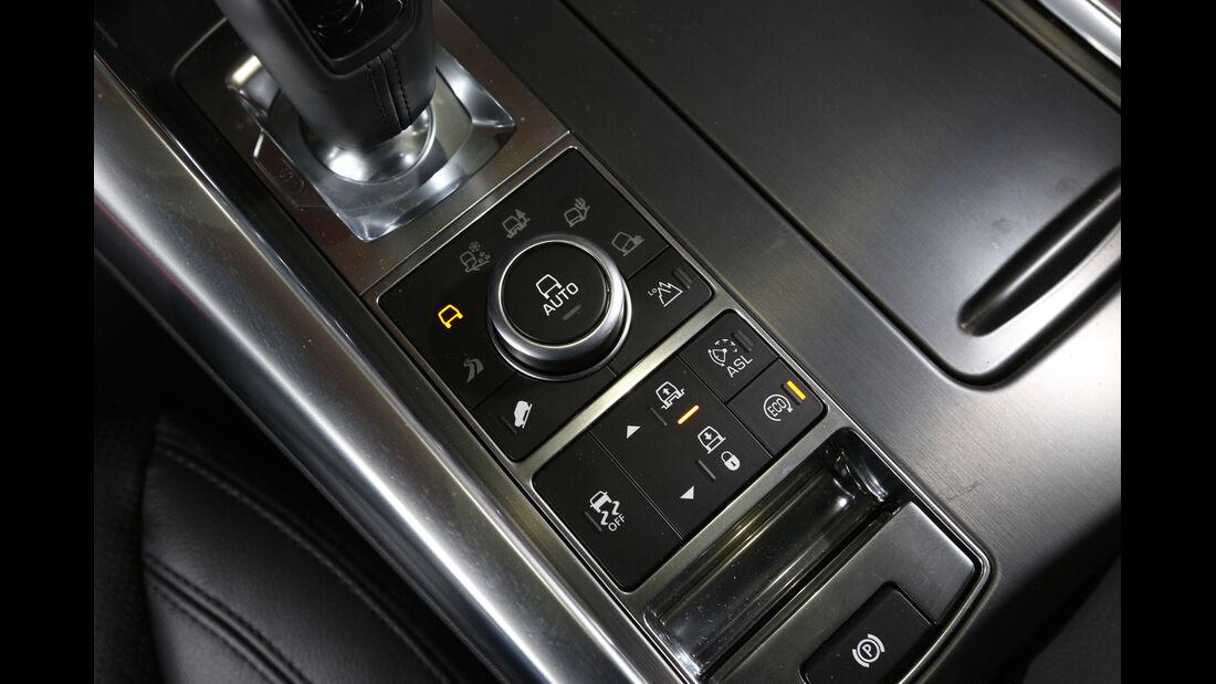 Range Rover Sport SDV6, Bedienelemente