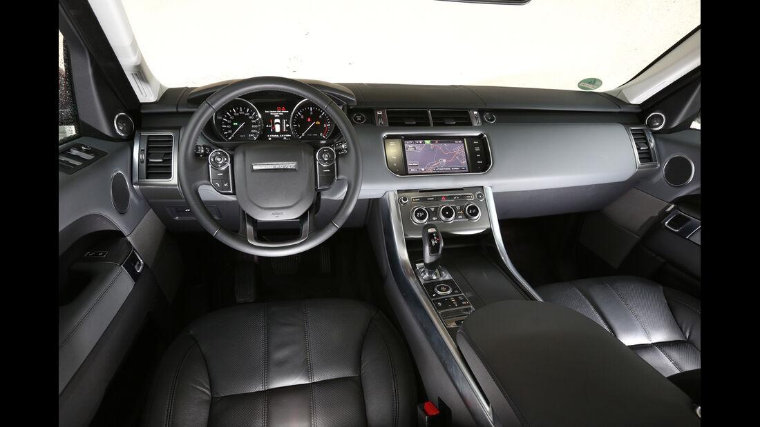 Range Rover Sport SDV6, Cockpit