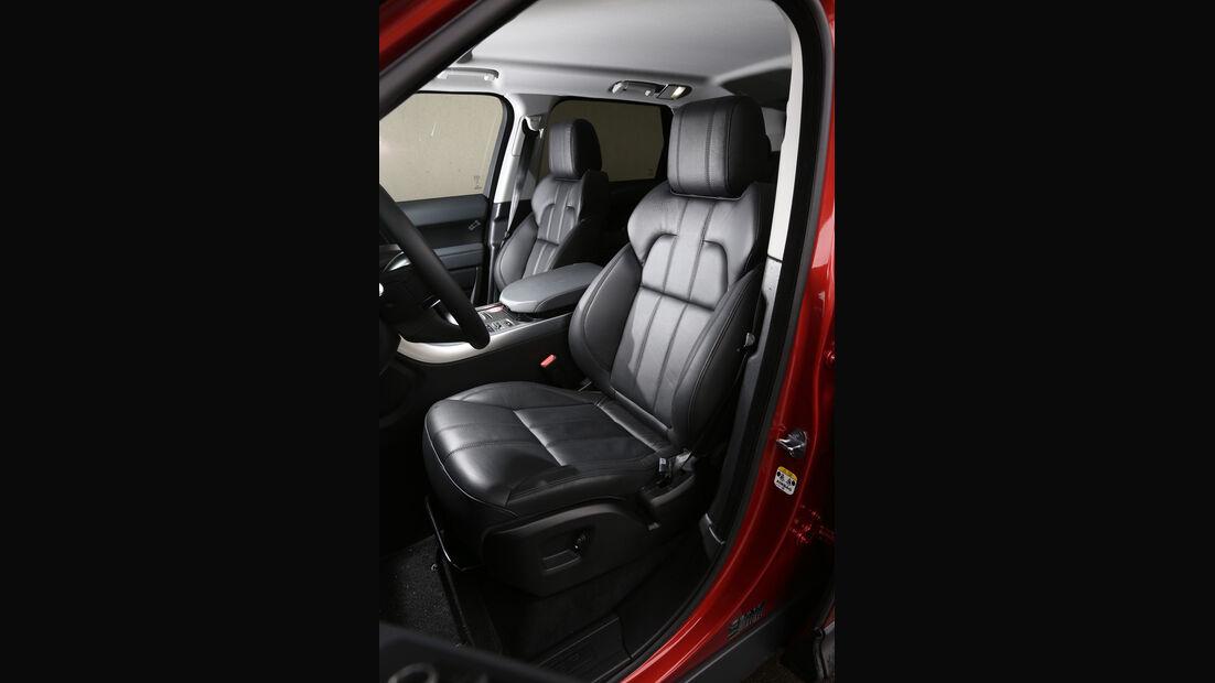 Range Rover Sport SDV6, Fahrersitz