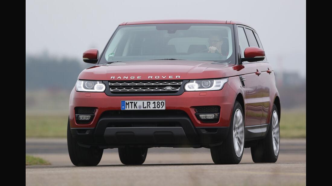 Range Rover Sport SDV6, Frontansicht