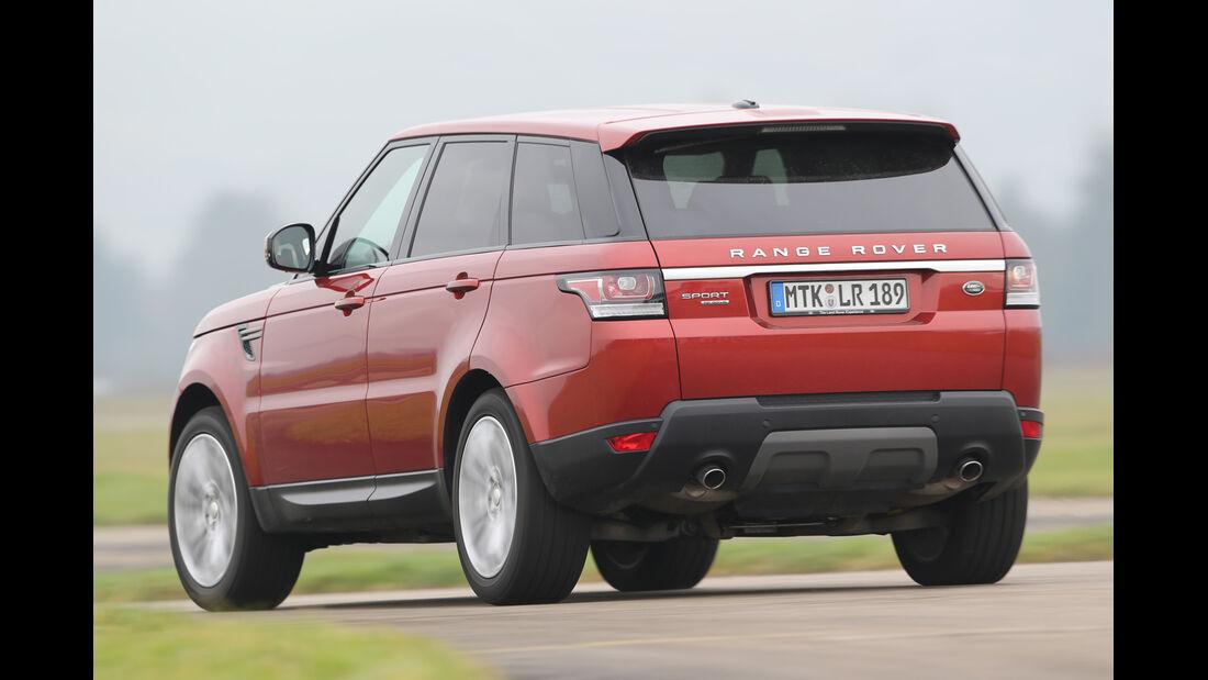 Range Rover Sport SDV6, Heckansicht