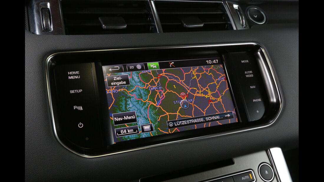 Range Rover Sport SDV6, Navi, Display