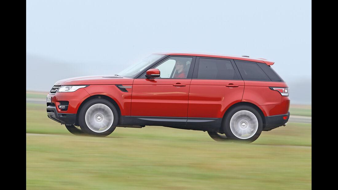 Range Rover Sport SDV6, Seitenansicht